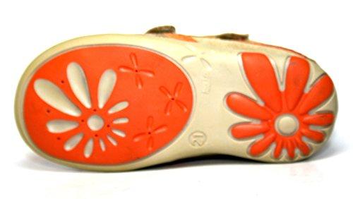 Siesta by Richter Kinderschuhe 34.9245 Mädchen Schuhe Orange (corn/sand/car/ra 0008)