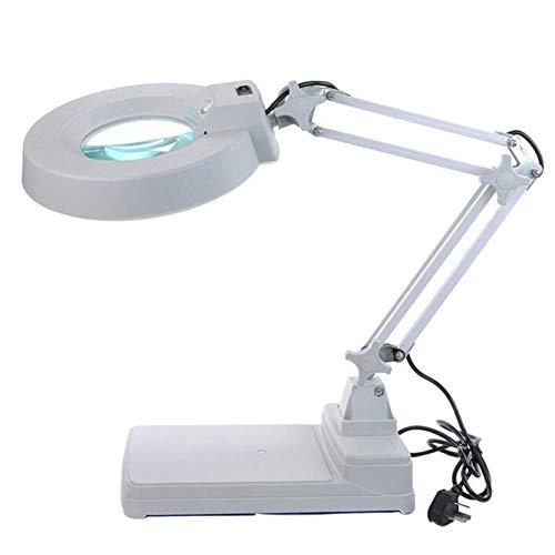 Hands Free Lupe Mit Led-leuchten,10x Desktop-lupen-juwelier-lupe Für