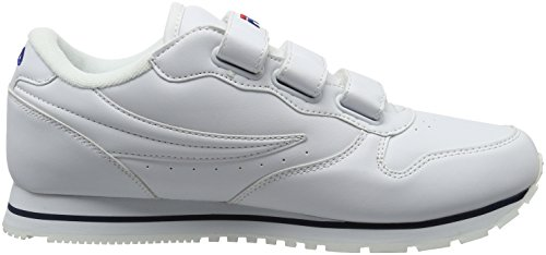 Fila Orbit Velcro Low, Sneakers basses homme Weiß (Bright White)
