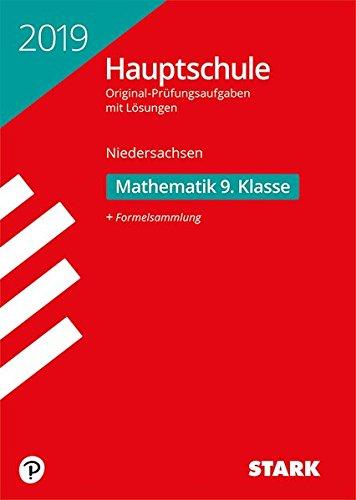 Original-Prüfungen Hauptschule - Mathematik 9. Klasse - Niedersachsen