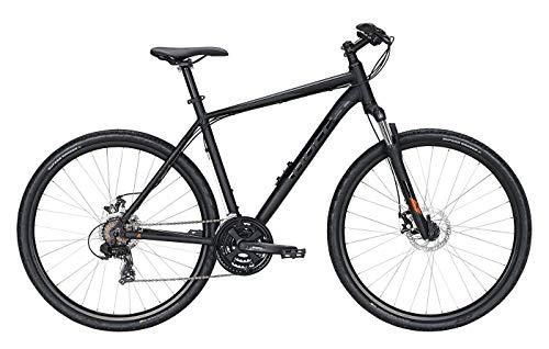 Bulls Wildcross Cross-Bike schwarz - Herren Fahrrad 28 Zoll - 21-Gang Kettenschaltung