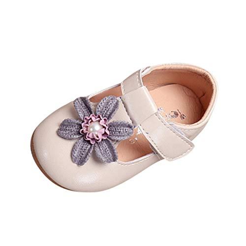 Baby Schuhe mädchen Bowknot-lederner Schuh-Turnschuh Anti-Rutsch weiches Solekleinkind für 0-18 Monate