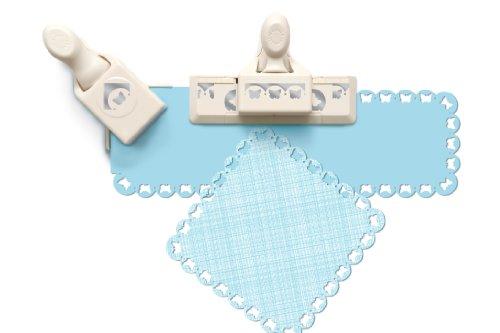 Martha Stewart Crafts Locher für alle Blattränder Schmetterling Jakobsmuschel Mehrfarbig