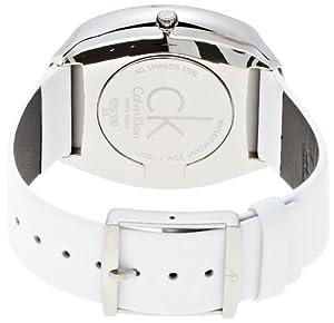 Calvin Klein Appeal K0W23601 - Reloj de mujer de cuarzo, correa de piel color blanco de Calvin Klein