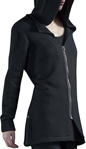 Musterbrand Assassin's Creed Cardigan a maglia Donna Fairfax Wool Zip Hoodie Nero M