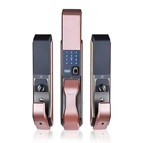 Lxj Fingerabdruck Schloss Halbleiter Fingerabdruck Passwort Sperre Infrarotsensor Sperren 9 Arten von Türöffnung es automatische Securi Intelligente Ty Türschloss - Home-securi