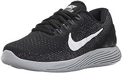 Nike Women's Wmns Lunarglide 9 Competition Running Shoes, Black (Blackdark Greywolf Greywhite), 5 Uk 38.5 Eu