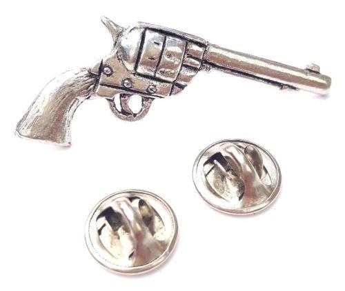 colt-45-pistole-handgefertigt-in-massiver-zinn-in-gb-revers-anstecknadel-59mm-knopf-abzeichen-gesche
