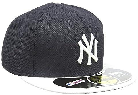New Era MLB Diamond Era NY Yankees 59FIFTY Cap Adult Baseball Cap Fitted blue Team Size:7 (EU)
