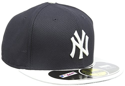New Era 59Fifty New York Yankees Casquette Homme, Bleu, FR : L (Taille Fabricant : 7 7/8)