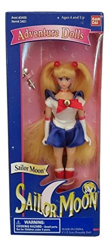 Preisvergleich Produktbild Rare Assorted 6 Sailor Moon Adventure Doll from Sailor Moon Adventure Doll Series - See description for specific doll sold by Irwin Toys for Bandai