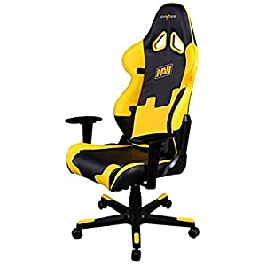 Dxracer – Silla Gaming re21 Negro y Amarillo