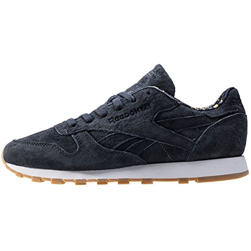 Reebok Classic Leather, Sneakers Basses Homme Gris