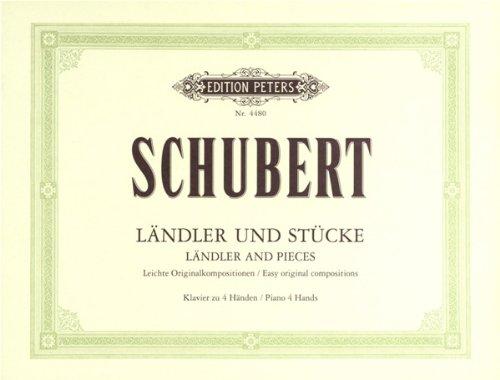 Schubert : Ländler und Stücke - Leicht...
