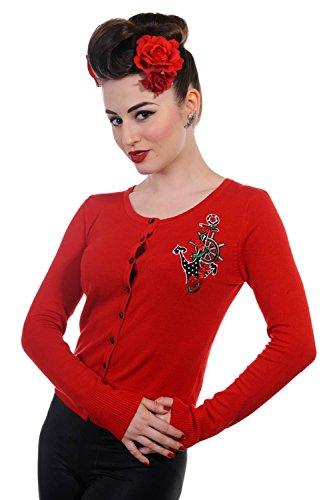 Banned -  Cardigan  - Donna Red