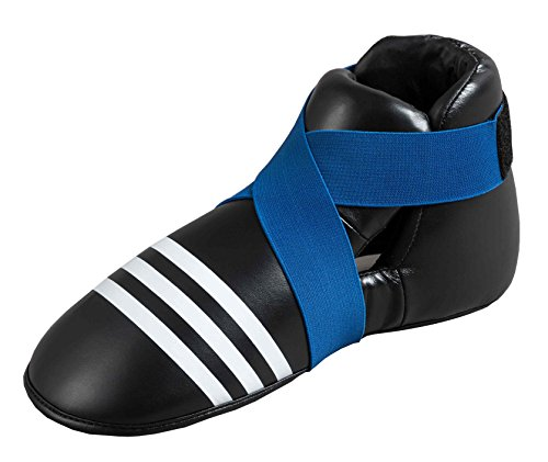 ADIDAS PROTECTOR DE PIES SUPER SAFETY KICKS  NEGRO/AZUL  XL  ADIBP04