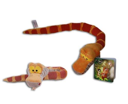Schlange Kaa 45cm Original Plüschtier Disney Film Das Dschungelbuch The jungle Book Teddy Super Soft