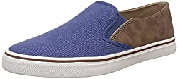 United Colors of Benetton Mens Blue Sneakers - 10.5 UK/India (45 EU) (17P8UNIC5015I)