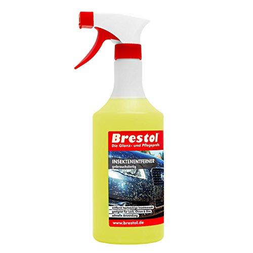 INSEKTENENTFERNER 750 ml gebrauchsfertig (2565) -- Insektenlöser Polycarbonat geeigneter Insektenreiniger Vogelkotentferner Spezialreiniger alkalisch - original Brestol