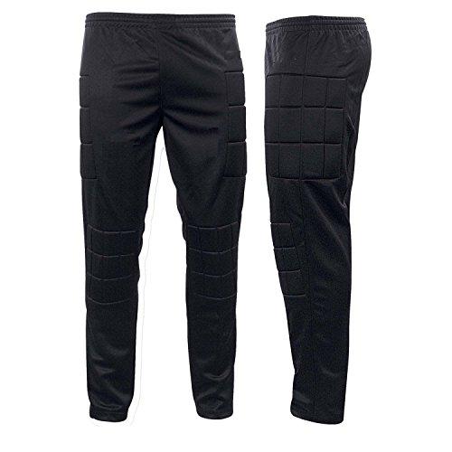 Prostyle Goalkeeper Trouser, Pants, Padded Pants (Small, Black)