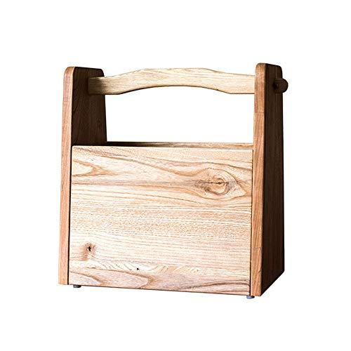 NBRTT Dekorative Koffer, Premium Holz, tragbare Holz Stash Box mit Lagerung wor Regal Home Decor Geburtstagsfeiern Hochzeitsdekoration Displays Handwerk Fotoshootings
