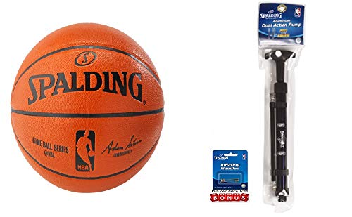 LALS Basketball NBA Offizieller Replik Ball unaufgeblasen Sport Outdoor Indoor Hoop Equipment