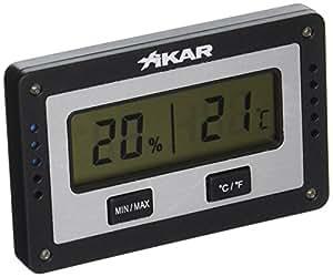 Xikar Slim Digital Hygrometer - Rectangular Design (833XI)
