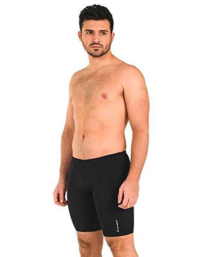 Aqua Sphere Men's Shorts Badehose Jammer BangorCity in Maine USA schwarz - schwarz