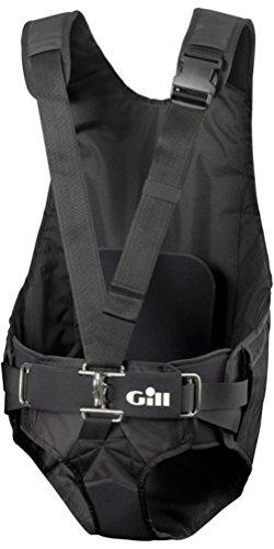 Gill Trapeze Harness aus Graphit - Unisex - Neoprenanzugpolsterung und Abriebfeste Materialien Low Harness Boot