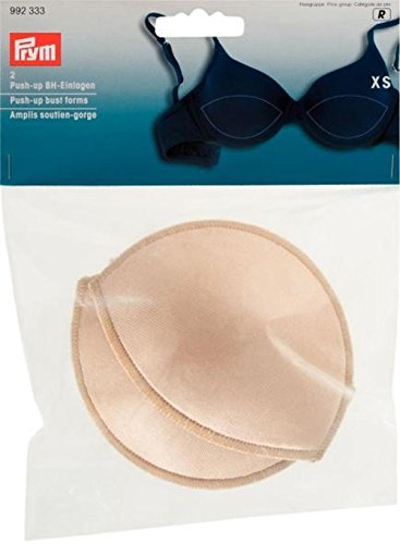PRYM Medium/Large 2-teilig Push-Up Brust Formen, Flesh Beige
