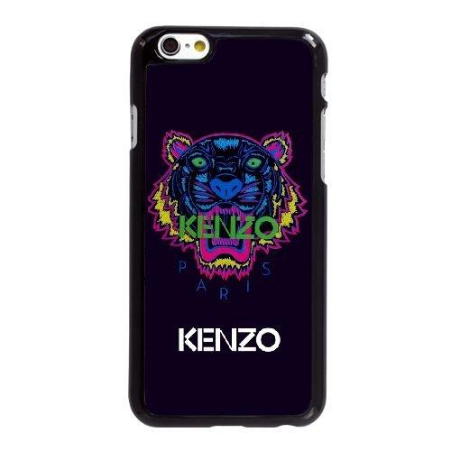 NSIHS kenzo 04ja33 coque iphone 6 6s 4,7 pouces cas de téléphone portable coque 54s856 boîtier noir téléphone coque personnalisée