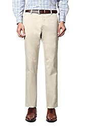 Allen Solly Mens Casual Trousers (8907088675811_AMTF1G01019_36W x36L_Beige)