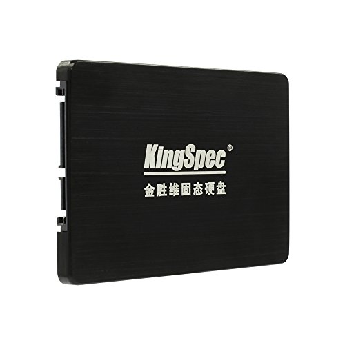 KingSpec SSD 128 GB disco duro interno SATAIII 6 GB/s MLC de estado sólido...