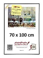 Contours plastiques arrondis : 11x25mm. Cadre en matières plastiques, classique, de grande qualité. Cadre interchangeable 3-B que vous pouvez utiliser aussi bien pour vos photos, illustrations, reproductions d'?uvres, que pour afficher des informatio...