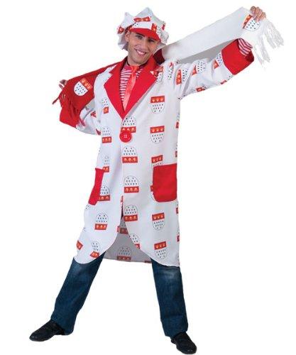 Preisvergleich Produktbild Pierro´s Kostüm Köln Mantel Colonia Größe 60 / 62