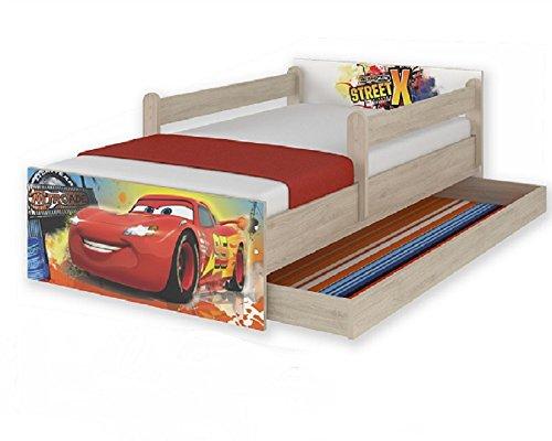 Letti Per Bambini 160 Cm.Letti Per Bambini Disney Cars Saetta Mcqueen 160 X 80 Cm Con