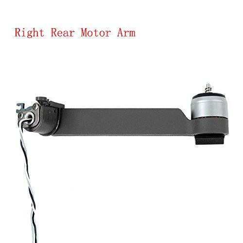 Hunpta Rahmen-Kit rechts hinten Motor Arm Reparatur Karosserieteile für DJI Mavic Pro Drohne (Grey)