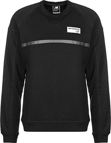 New Balance Athletics Crew Sweatshirt Herren schwarz, M