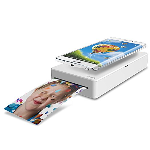 PicKit M1 Pocket Mini Mobile Photo Printer Portable - Rose