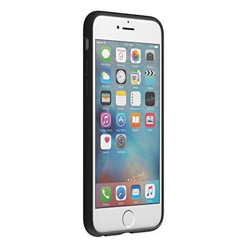 Hülle für iPhone 6/6S, Airfit Ultra Slim, weiches Inneres, Kratzschutz mit perfekter Passform für iPhone 6S, iPhone 6, Rot schwarz