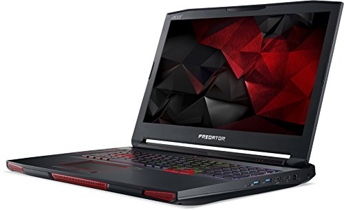 980m Gtx Laptop Nvidia (Acer Predator 17 X (GX-791-77MA) 43,9 cm (17,3 Zoll matt Full HD) Notebook (Intel Core i7-6820HK, 16GB RAM, 1000GB HDD, 256GB PCIe SSD, Nvidia GeForce GTX 980 8GB GDDR5X VRAM, Win 10 Home) schwarz)