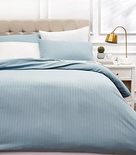 AmazonBasics - Juego ropa cama funda nórdica microfibra