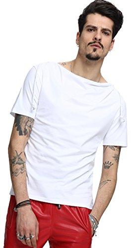 whatlees-uomo-di-base-urbana-hip-hop-t-shirt-oversize-con-cappuccio-bianco-b025-m