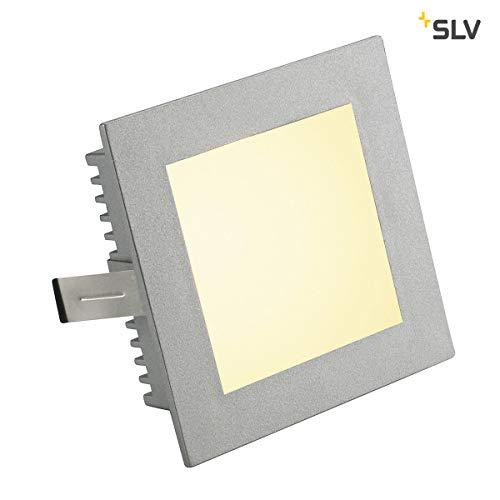 SLV FLAT FRAME BASIC Leuchte Indoor-Lampe Aluminium/Glas Silber Lampe innen, Innen-Lampe