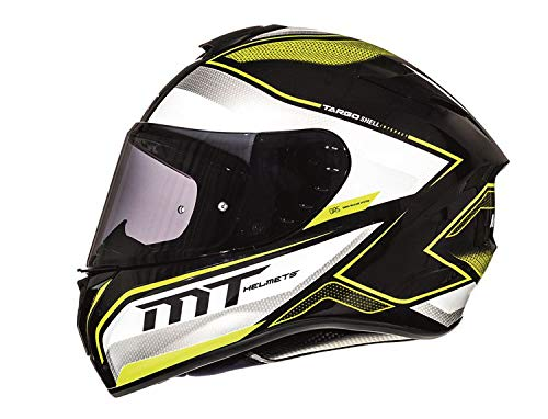 MT - Casco Integral MT Targo Interact A4 Amarillo