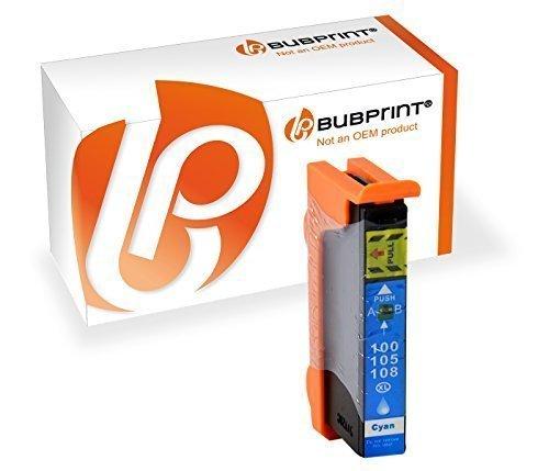 Bubprint Druckerpatrone kompatibel für Lexmark 100XL für Interact S605 Interpret S405 S505 Pinnacle Pro 901 Platinum Pro 905 Prestige Pro 805 Cyan - 901 Pinnacle-serie