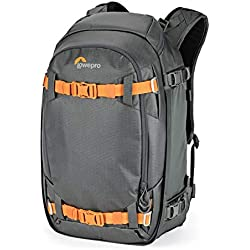 Lowepro Whistler BP 350 AW II 4 Season Outdoor Backpack for Pro DSLR and Mirrorless Cameras, Laptop and Outdoor Gear LP37226-PWW, Black