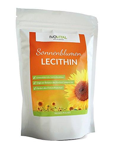 Sonnenblumen Lecithin Pulver, IVOVITAL® (allergenfrei und gvo-frei) (300 g)