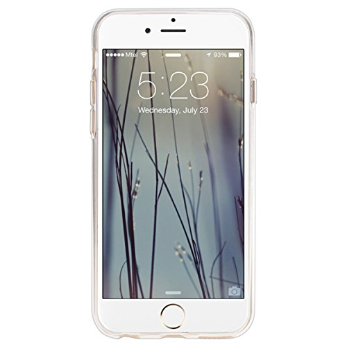 iPhone 6S Plus Hülle,iPhone 6 plus Hülle,SMART LEGEND iPhone 6 6S Plus 5.5 Zoll Weich TPU Silikon Case Schutzhülle Crystal Case Durchsichtig, Luxus Glitzer Glanz Kristall Crystal Transparent Silikon S Feder