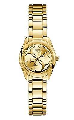 GUESS Reloj Analógico para Mujer de Cuarzo con Correa en Acero Inoxidable 0091661488856